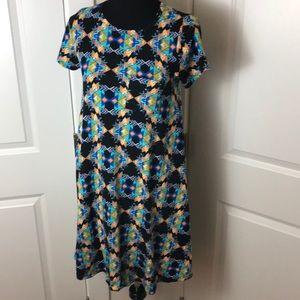 LuLaRoe Carly Dress, XXS